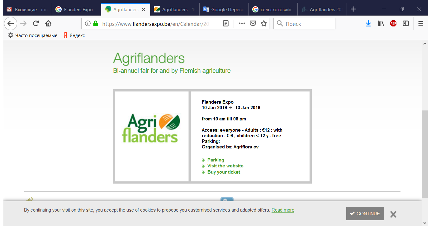 Agriflanders - Flanders Expo - Mozilla Firefox