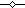 Значек черный линия маркер ромб с белым